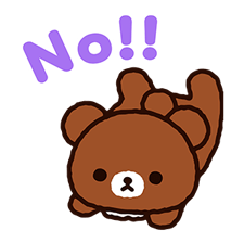 Rilakkuma: Chairoikoguma Stickers 6