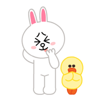 LINE Characters: Pastel Cuties Stickers 6