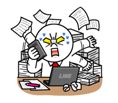 Chief Moon's Battle as an Office Worker Stickers 6
