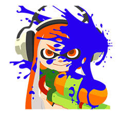 Splatoon: Inkling Injection Aufkleber