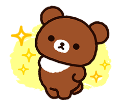 Rilakkuma: Chairoikoguma Stickers 16