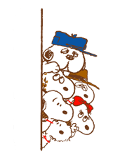 SNOOPY & Woodstock Stickers 8