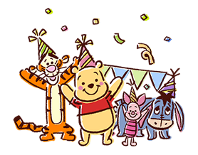 Winnie The Pooh Stickers 7