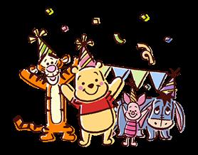 Winnie the Pooh Adesivi 7