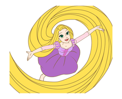 Disney Princess Cute Stickers 7