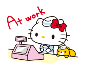 Hello Kitty: Simple and Sweet Stickres 7