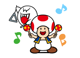 Talking Super Mario Stickers 7