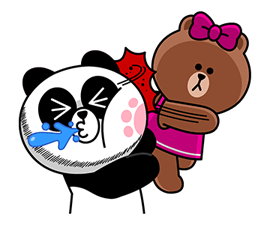 CHOCO & Pangyo's Love Punch Stickers 7