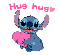 Stitch (Rowdy) Stickers 7
