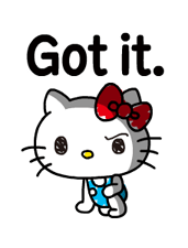 Hello Kitty's Quick Replies! Stickers 7