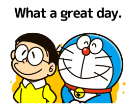 Doraemon's Adages Stickers 7