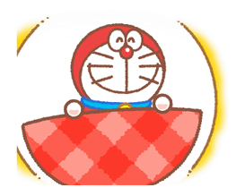 Doraemon & Dorami Stickers 7
