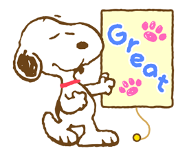 Super Spring Snoopy Stickers 7