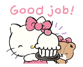 Hello Kitty's Daily Cuteness Stickers 7