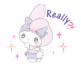 LARME x My Melody Stickers 7