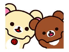 Rilakkuma: Chairoikoguma Stickers 7