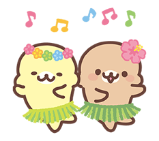 Mamegoma Stickers 7