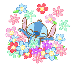 Stitch Cuteness Stickers 7
