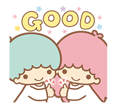 Little Twin Stars Sparkling Stickers 11