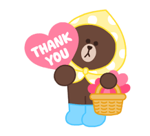 LINE Characters: Pastel Cuties Stickers 7