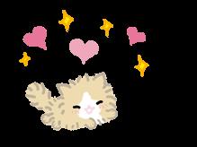 Kutsushita Nyanko Stickers 7