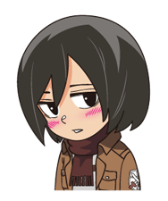 Attack on Titan Stickers 7