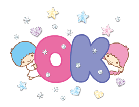 Little Twin Stars: Twinkly Stickers 8
