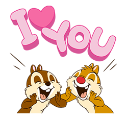 Chip 'n' Dale Stickere 8