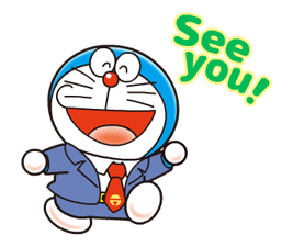 Doraemon on the Job Stickers 8
