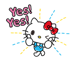 Hello Kitty's Quick Replies! Stickers 8