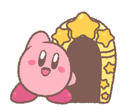 Kirby's Puffball Sticker Set 8