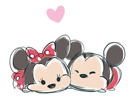 Disney Tsum Tsum (Freehand Style) Stickers 8