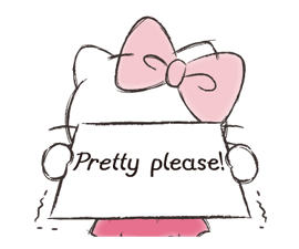 Hello Kitty Polite Stickers 8