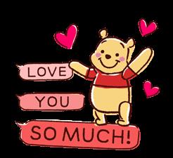 Winnie the Pooh Speech Balloons Stickers 8