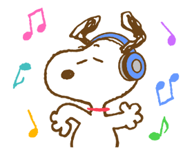 Super Spring Snoopy Stickers 8