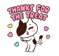 LINE Characters: Pretty Phrases Stickers 8