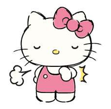 Hello Kitty's Daily Cuteness Stickers 8