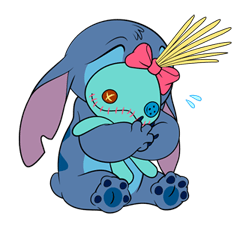 Stitch & Scrump Stickers 8