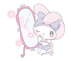 LARME x My Melody Stickers 8