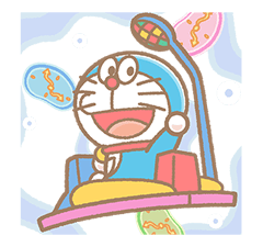 Doraemon 2 Stickers 8