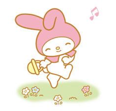 My Melody 2 Stickers 8