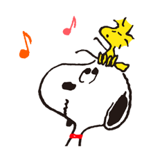 SNOOPY Stickers 8