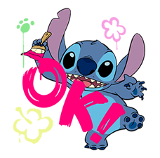 Stitch Mayhem Stickers 8