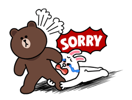 Brown & Cony lui Palpitant Data Stickere 24