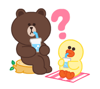 LINE Characters: Pastel Cuties Stickers 24