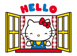 Hello Kitty 2 adhesius