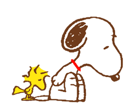 SNOOPY & Woodstock Stickers 10