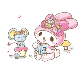 My Melody: Too Cute for You! Stickers 9