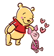 Winnie The Pooh Stickers 9