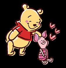Winnie The Pooh Aufkleber 9